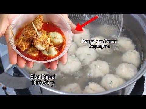Detail Cara Membuat Bakso Pentol Kuah Kari Ala Abang Abang Part 1 Youtube Makanan Resep Masakan Resep