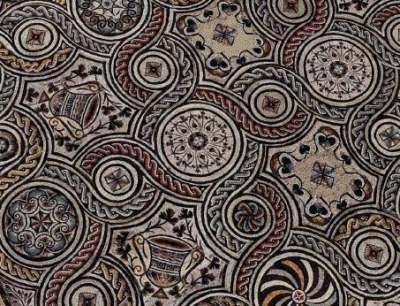 Resultado de imagen de palazzo valentini mosaico