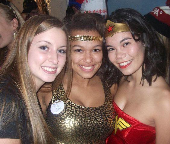 Halloween mixer with ACACIA fraternity, 2011!