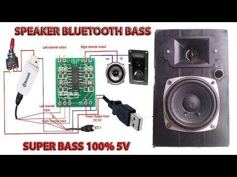Cara Membuat Speaker Bluetooth Yang Nge Bass 100 Youtube Speaker Bluetooth Pengeras Suara Speaker