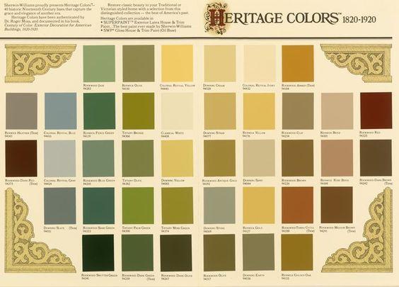 Interior Paint Colors Farmhouse 1900s Google Search Paint Color Schemes Pinterest Paint