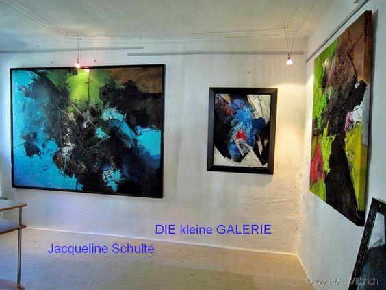 Dietmar Wölfl in der kleinen Galerie Jacqueline Schulte Buchloe Kolpingstraße 2a Germany