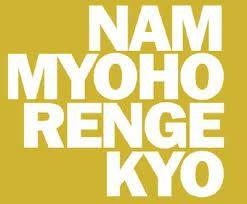 nam myoho renge kyo - daimoku :)