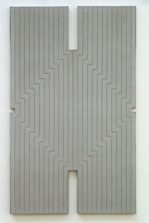 Art what you see and abstract on pinterest for Minimal art frank stella