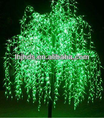 Height 3M led artificial willow tree light $160~$580