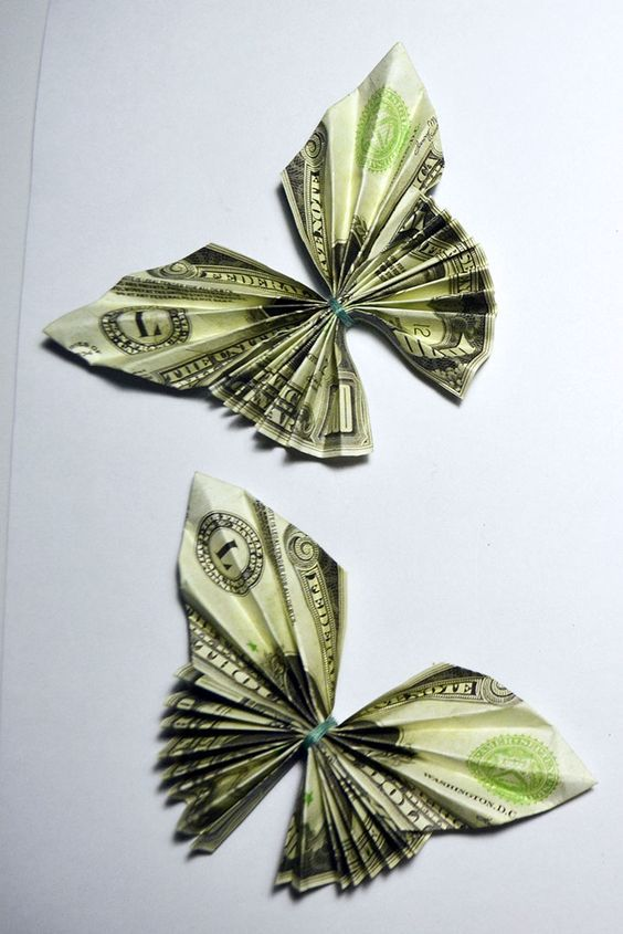 Pin by Muhammed ERDOĞAN on Origami | Dollar bill origami, Origami ... | 845x564