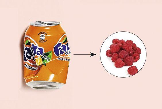 """""""La mezcla de notas cítricas y dulces del refresco de naranja lo hacen…"""