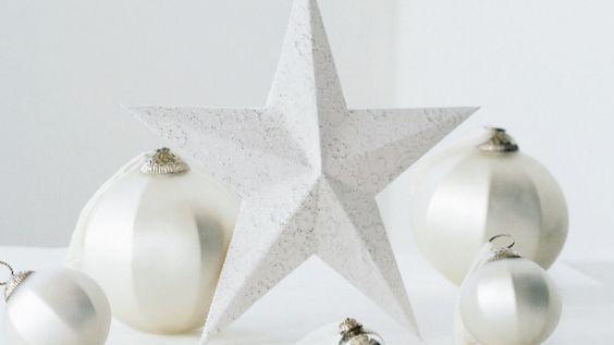 Handmade Christmas star