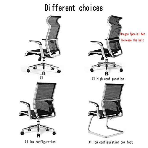Geng High Back Swivel Mesh Chair Ergonomic Design Adjustable Swivel Computer Desk Chair With Arms Seating Back Computer Desk Chair Mesh Chair Ergonomics Design