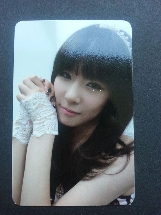 SNSD TIFFANY MR TAXI Official Photo Card 3rd Album Girl's Generation Photocard