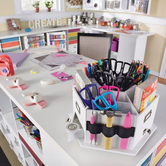 More craft organization.
