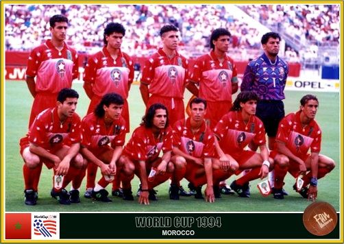 Fan Pictures 1994 Fifa World Cup United States Morocco Team World Cup Teams World Cup Morocco