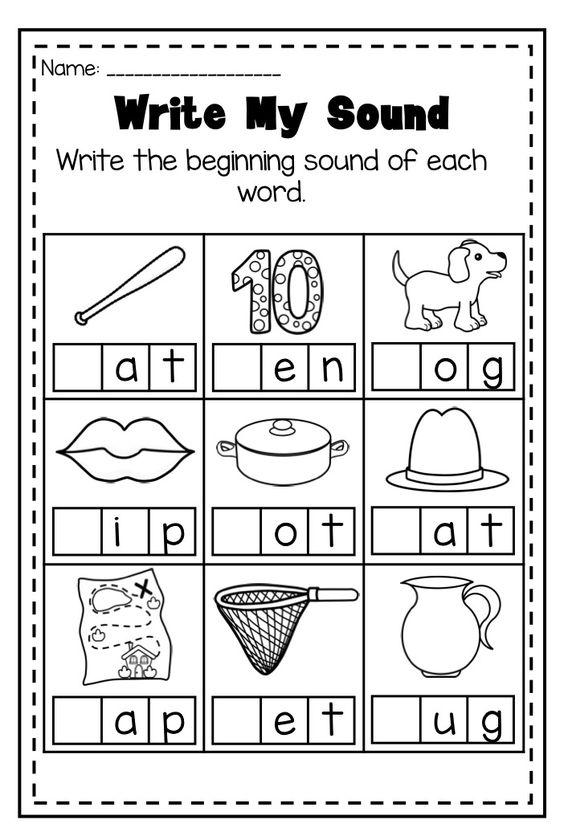 MEGA Phonics Printable Worksheet Bundle - Literacy Pre-K Kindergarten : Phonics, Middle and ...