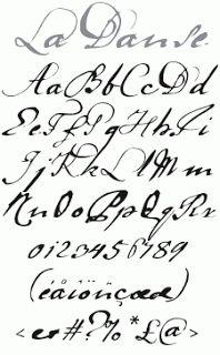 Calligraphy Alphabet Latin Alphabet Texts And Prints