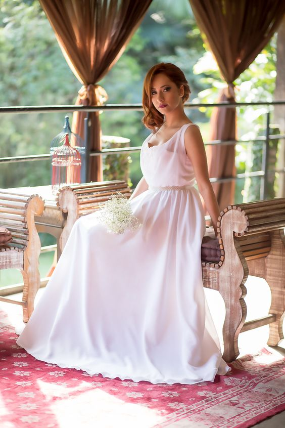 Apaixonante... É a palavra que define o vestido de noiva Audrey, com certeza você também irá se apaixonar.