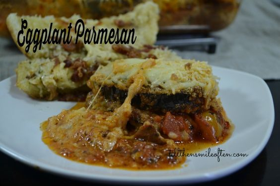 Eggplant Parmesan | Raving Recipes | Pinterest | Eggplant Parmesan ...