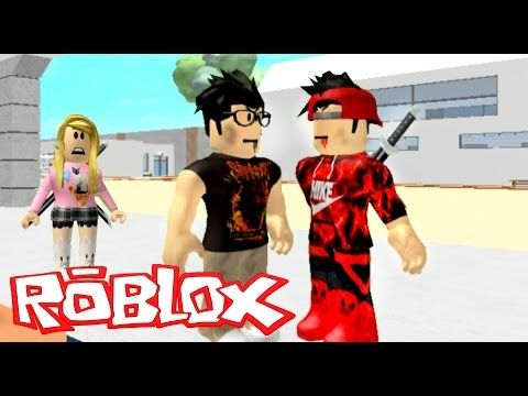 They Both Like The Same Girl Roblox Roleplay Bully Series