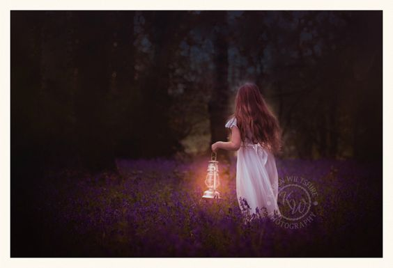 Karen Wiltshire of KW Photography highlights some of her favourite portraits taken, on location, in local bluebell woods.