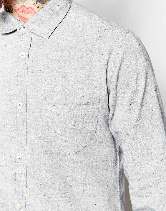slub yarn shirt - Google Search