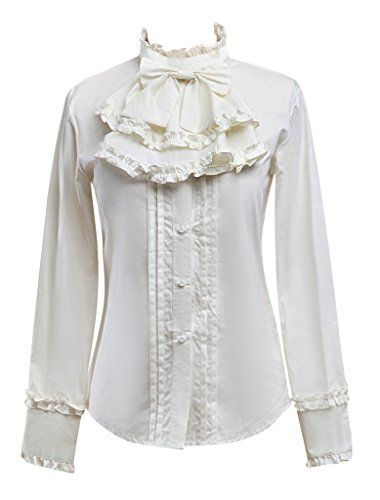 Hugme Fantastic Long Sleeves Chiffon Lolita Blouse Hugme http://www.amazon.com/dp/B01DM5PEQE/ref=cm_sw_r_pi_dp_SS.pxb15X2SP2