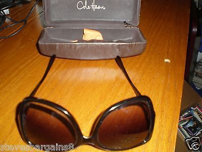 OLDER COLE HANN SUNGLASSES LARGE WOMANS VERY NICE IN CASE