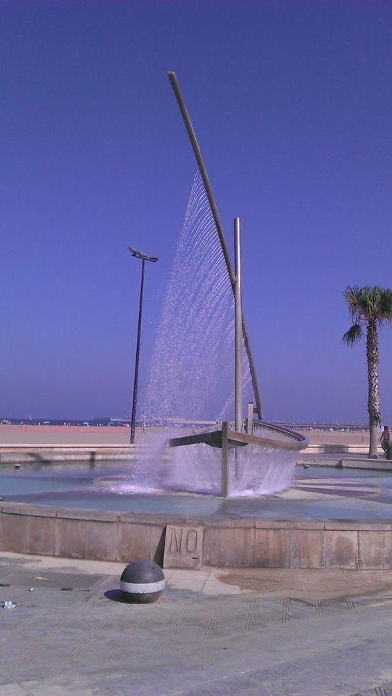 Playa de la Malvarrosa, Valencia.