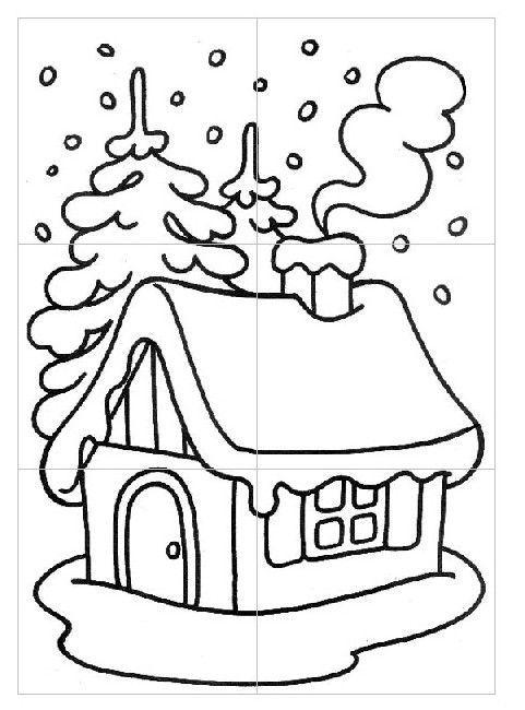 Tipss Und Vorlagen Coloring Pages Preschool Worksheets Winter