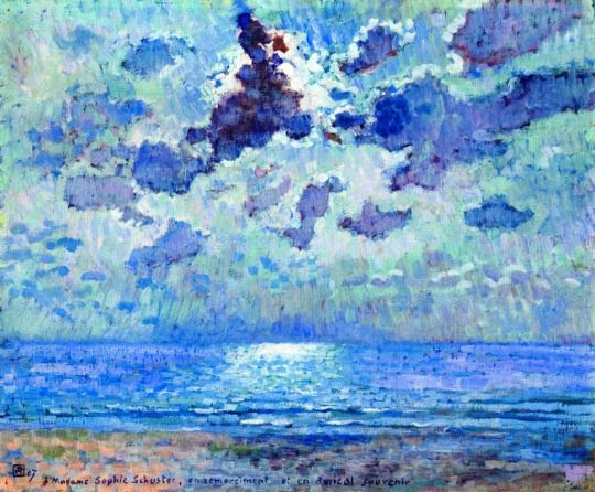 Jersey 1907, Moonlight by Theo van Rysselberghe