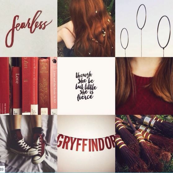 Ginny Weasley Moodboard The Thing About Growing Up With Fred And