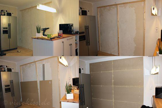 Tafel Wand selber machen   Videkiss