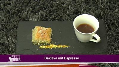 Baklava mit Espresso (Mustafa Alin) - Rezept - kochbar.de