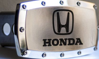 Honda Chrome Hitch Cover Elite Hand Polished Tow Trailer
