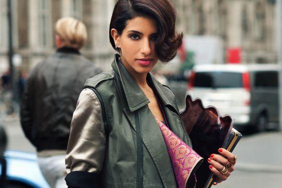 Princess Deena Al-Juhani Abdulaziz - Founder of D'NA, Paris, New York Fashion Week, http://www.dnariyadh.com