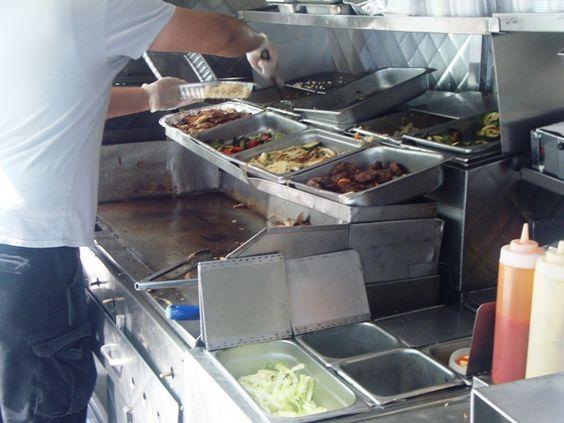 Street food food truck and trucks on pinterest Kitchen design basics