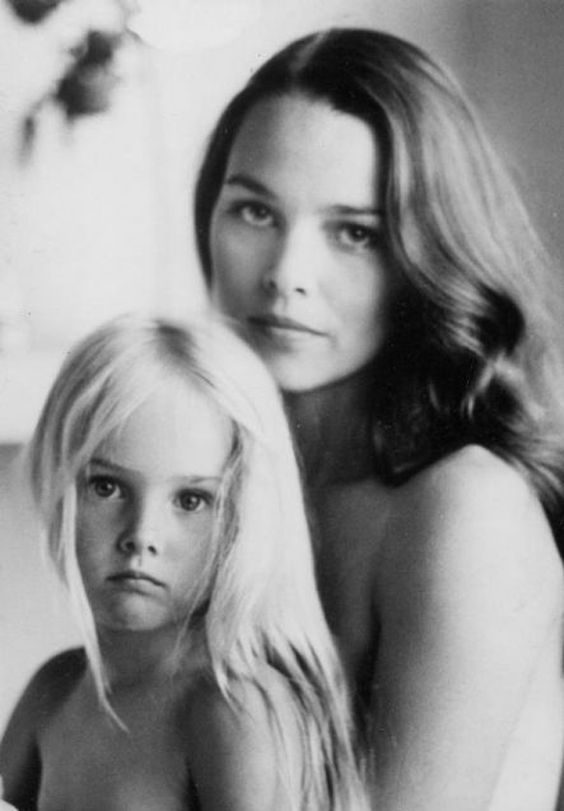 Michelle Phillips from The Mamas & The Papas with daughter Chynna Phillips