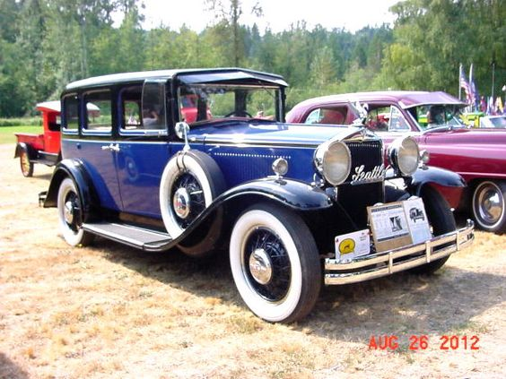 1930 HUPMOBILE Six model S Sedan unrestored driving barn car ...