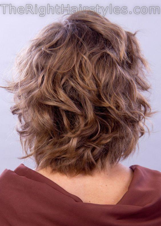 short voluminous curls