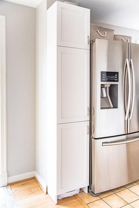 How To Build A Pantry Cabinet Kitchen Pantry Cabinets Built In