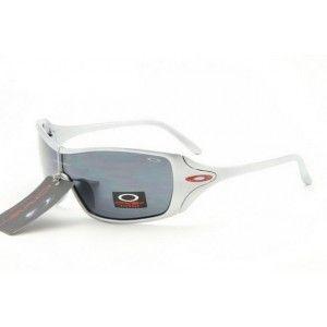 cheap womens oakley dart sunglasses  cheap oakley dart sunglasses white frame black lens outlet on sale