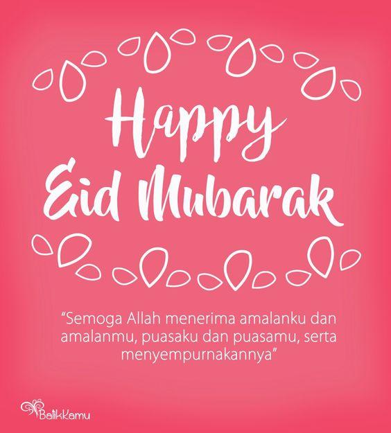 20 Ucapan Selamat Hari Raya Idul Fitri 2019/1440 H Serta