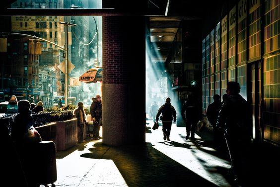 Fotógrafo: Michael Marsh   Editor: Calvin Dexter   Un paseo por Manhattan