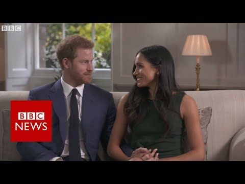 Meghan Markle And Prince Harry Giggle And Goof Off Behind The Scenes Of Engagement Interview Prince Harry And Meghan Prince Harry Meghan Markle