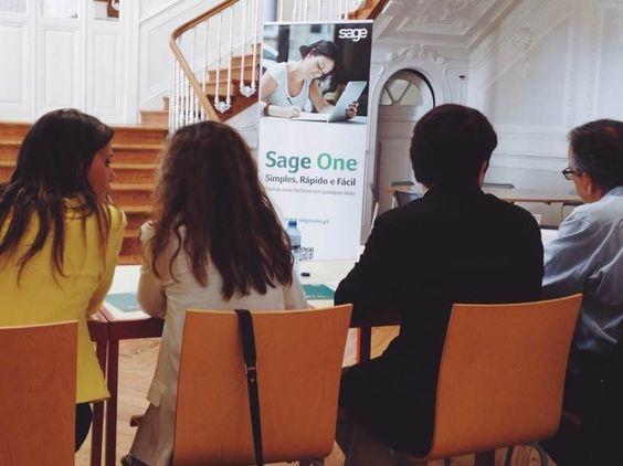 O #SageOne esteve com a #AIESEC no #LeadershipTournament #SageOnePortugal #facturação #facturar #invoicing #NovaSBE