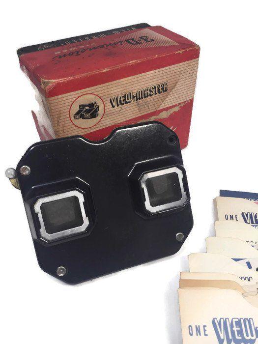 Vintage View-Master Viewer Black Sawyer's Made in USA