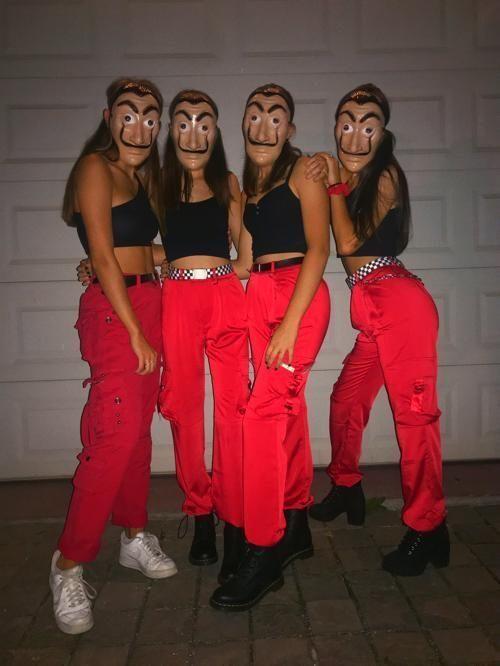 100 Diy Halloween Costumes For Teenage Girls Hike N Dip Teenage Halloween Costumes Girl Group Halloween Costumes Cute Group Halloween Costumes