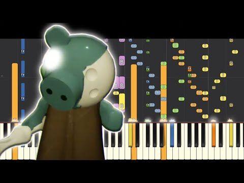 Zompiggy Theme Piano Remix Piggy Roblox Youtube Piggy Roblox Piano