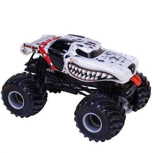 1 24 Hot Wheels Monster Mutt Dalmatian Truck Monster Monster Trucks Hot Wheels