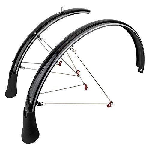"""SunLite Full 26/"""" x 60mm Mountain Bike Fenders //// Black"""