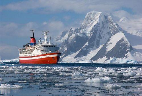 Great view of Antarctica
