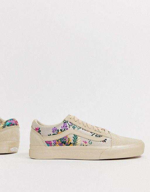 image.AlternateText | Floral sneakers, Vans old skool